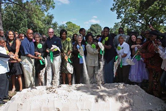 Emancipation Park groundbreaking